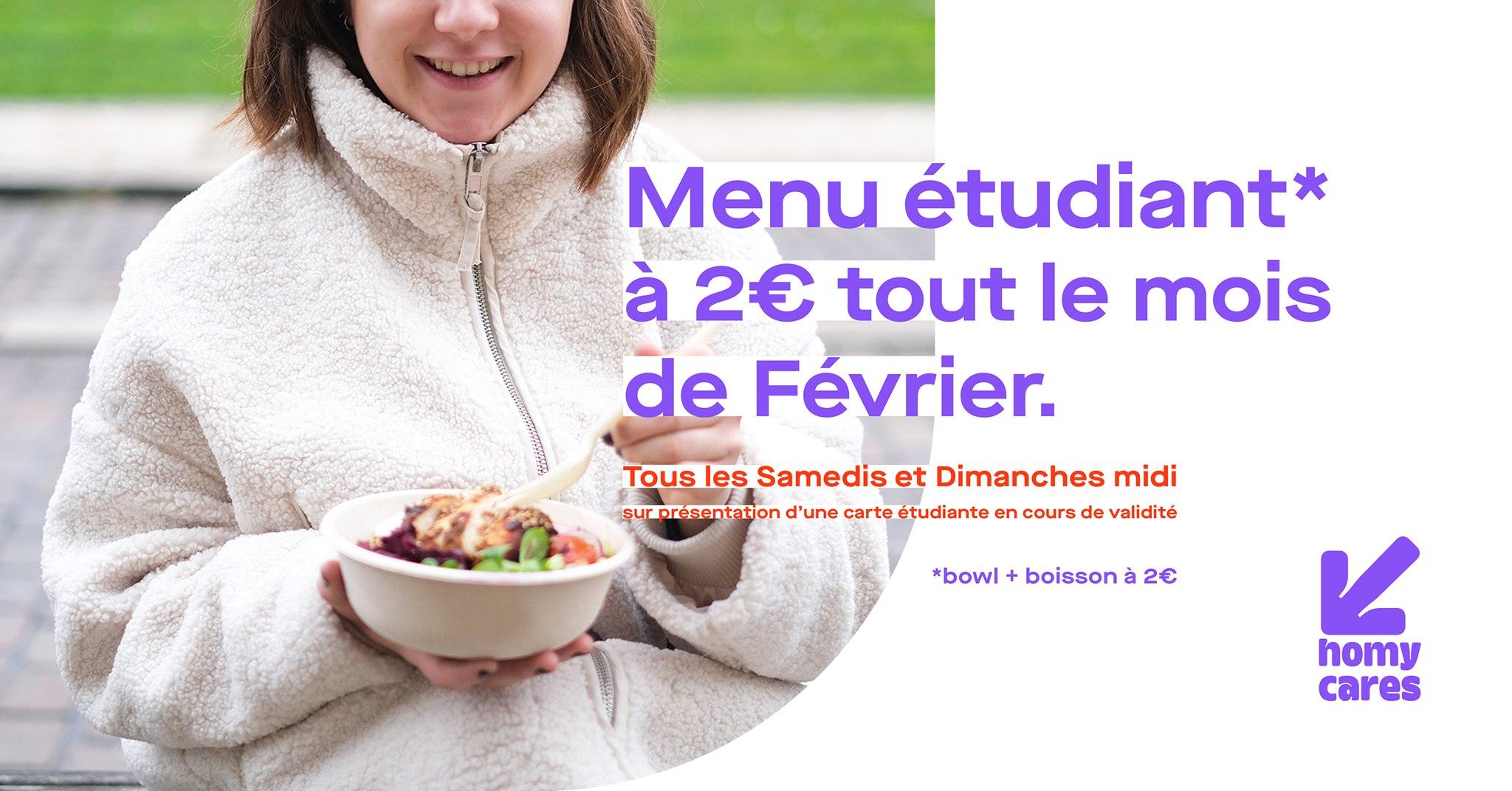 [Etudiants] Menu Bowl + boisson à 2€ - Pokemoon Talence & Bordeaux / Paula (33)