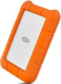 "Disque dur externe 2.5"" Lacie Rugged - 1 To, USB 3.1 Type C"