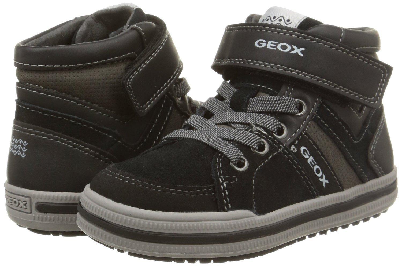 Chaussures sneakers Geox Elvis D - grises (du 26 au 34)