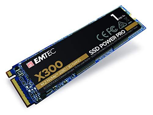 SSD interne M.2 NVMe Emtec X300 Power Pro ( TLC 3D) - 1 To (Frais d'importation compris)