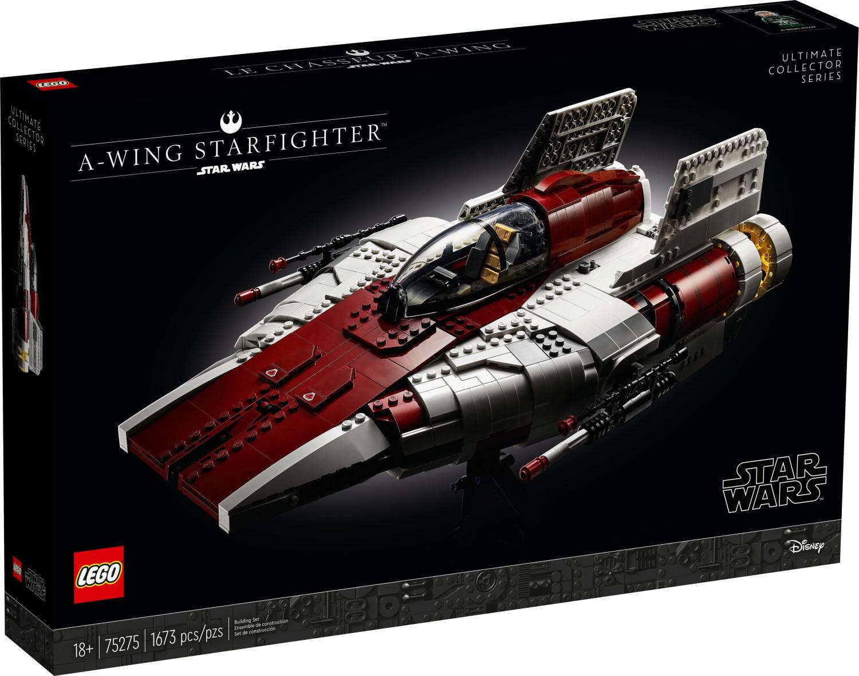 Jouet Lego Star Wars - A-wing Starfighter (75275)