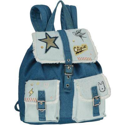 Sélection de sac à dos pour enfant en promotion - Ex: Sac à dos Chipie bleu