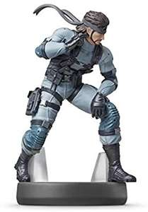 Amiibo Solid Snake - Super Smash Bros