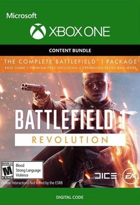 Battlefield 1 Revolution + Battlefield 1943 sur Xbox One (Dématérialisé)