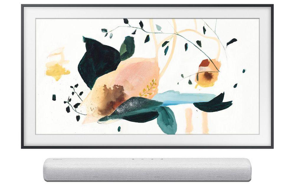 "TV 50"" Samsung The Frame QE50LS03T (QLED, 4K, HDR 1000, Smart TV) + Barre de son HW-S41T (100W, WiFi / Bluetooth / Optique) - Via ODR 400€"