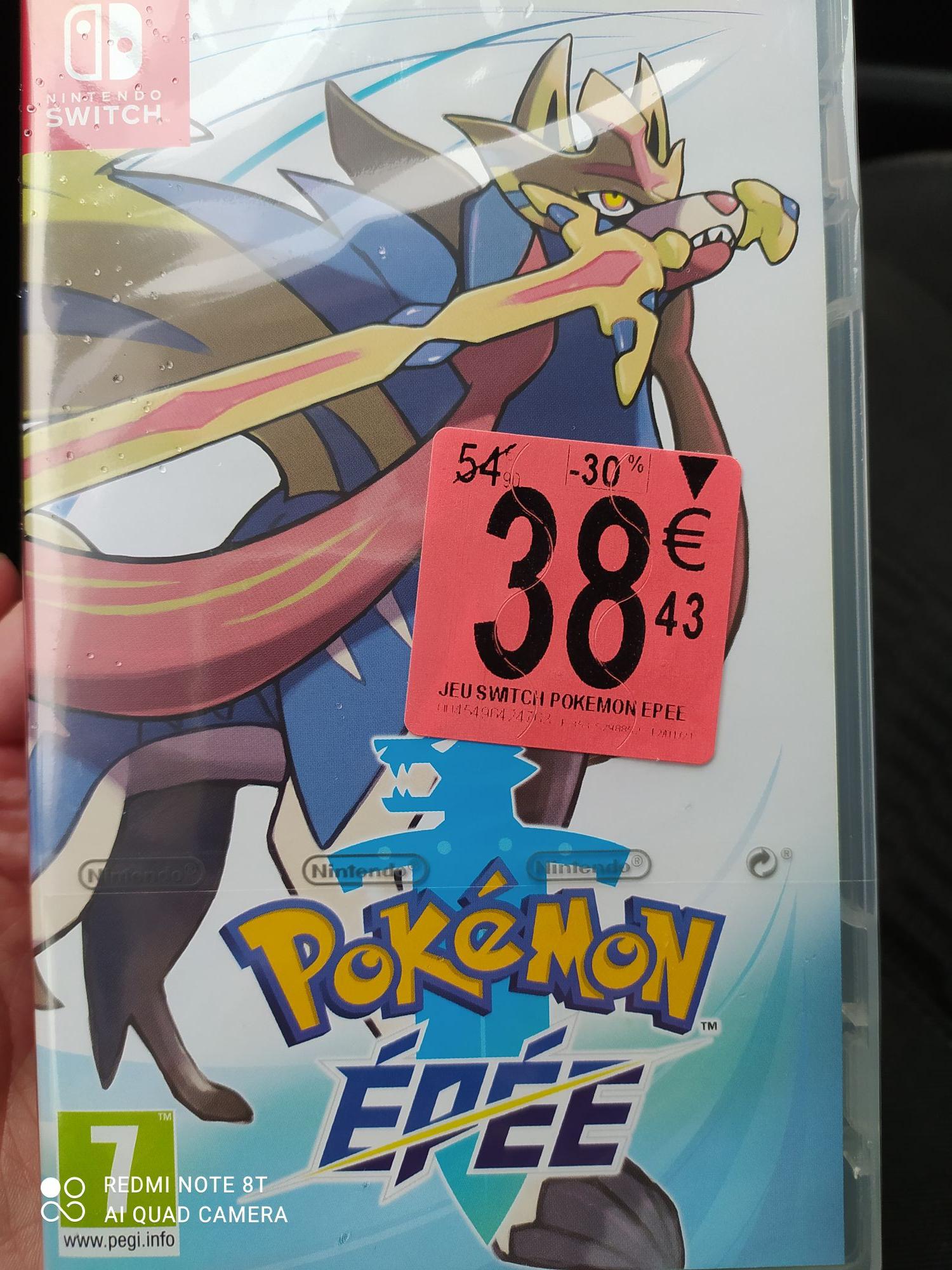 Sélection de jeux sur Nintendo switch - Ex : Pokémon Epée - Decazeville (12)
