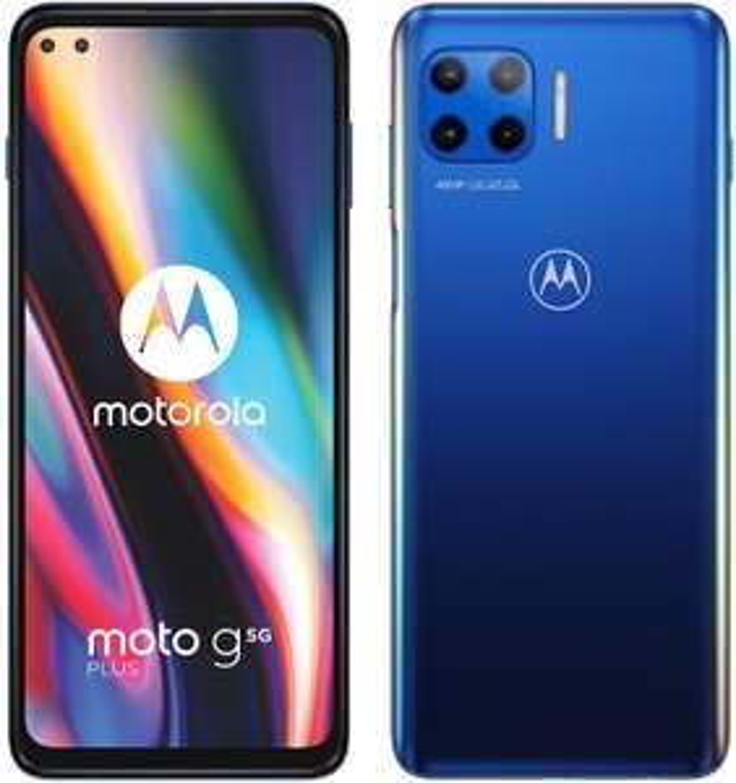 "Smartphone 6.7"" Motorola Moto G 5G Plus - SnapDragon 765 5G, 4 Go de RAM, 64 Go + Smartphone 6.4"" Motorola Moto G8 - HD+, 4 Go de RAM, 64 Go"