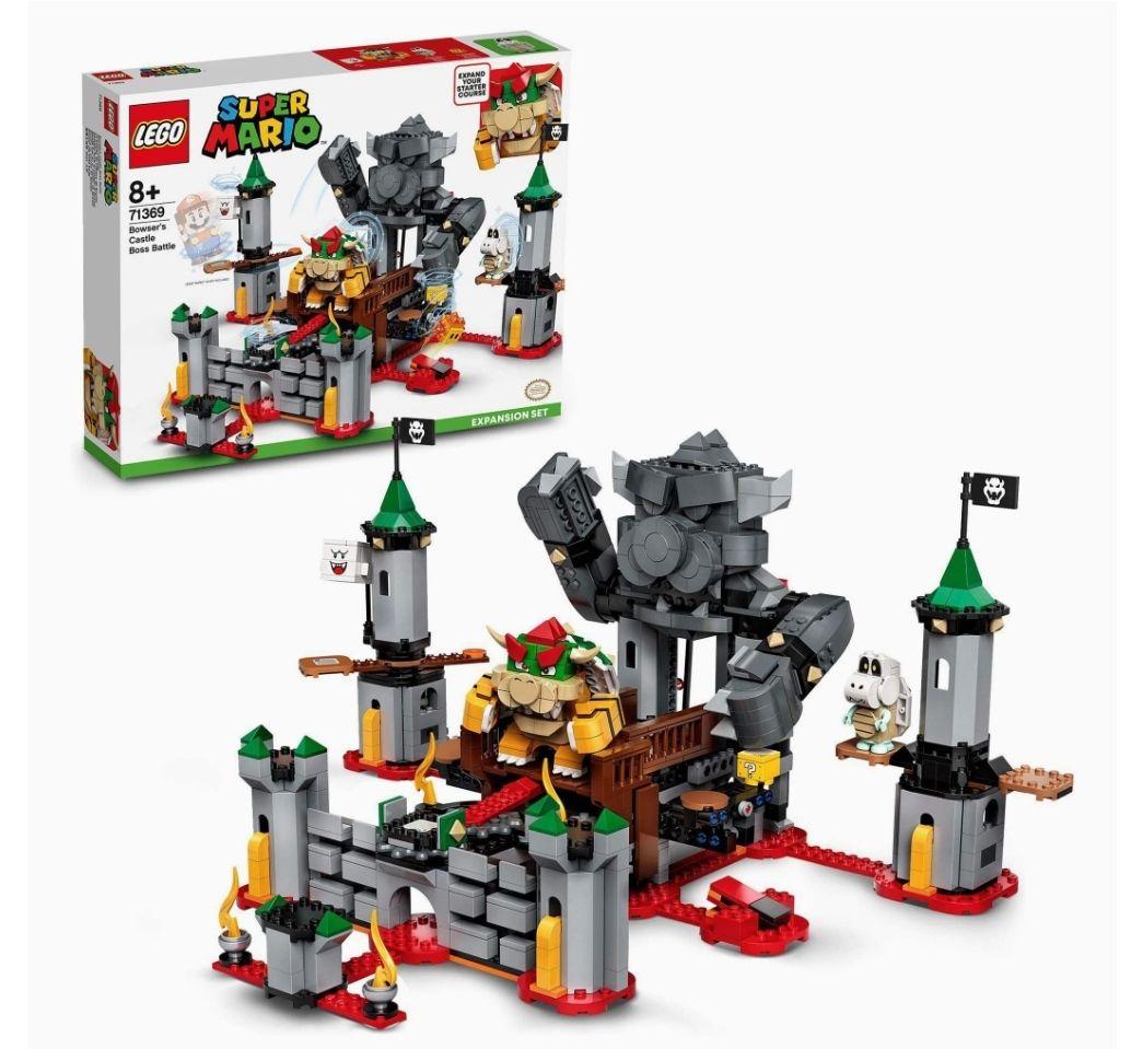 Jeu de construction Lego Super Mario - Ensemble d'Extension La bataille du château de Bowser n°71369