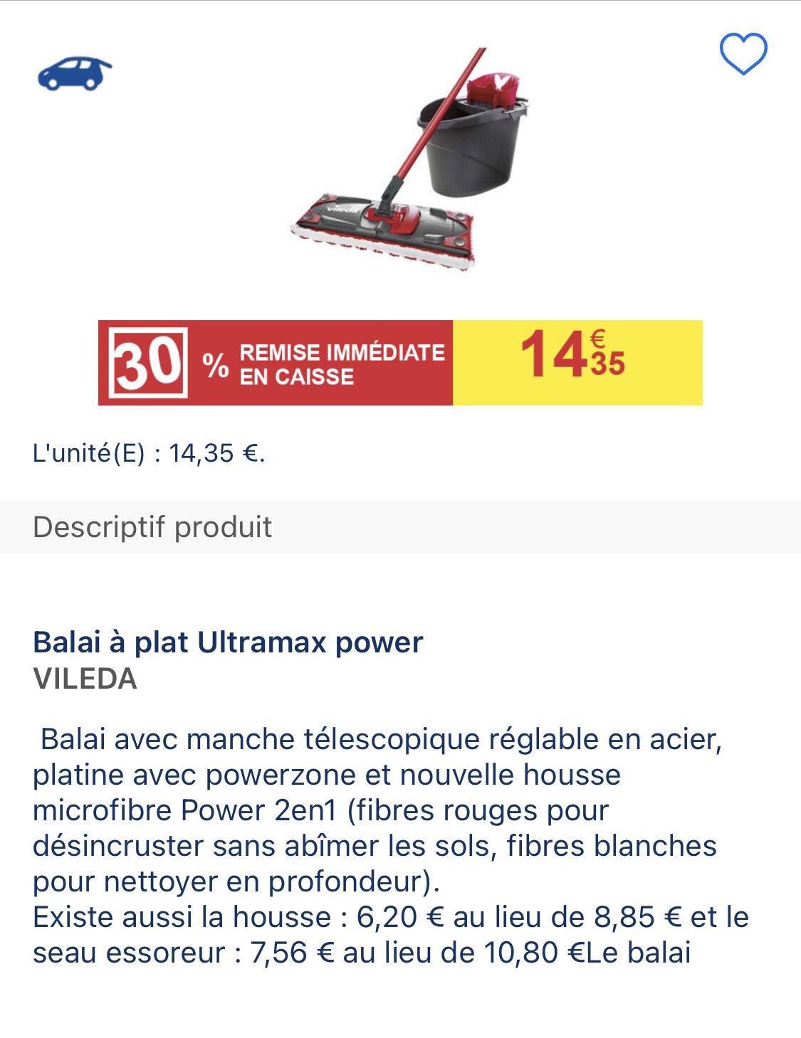 Balai Vileda Ultramax Power