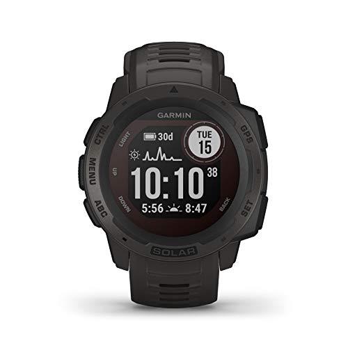 Montre Garmin Instinct Solar GPS / baromètre (noir graphite)