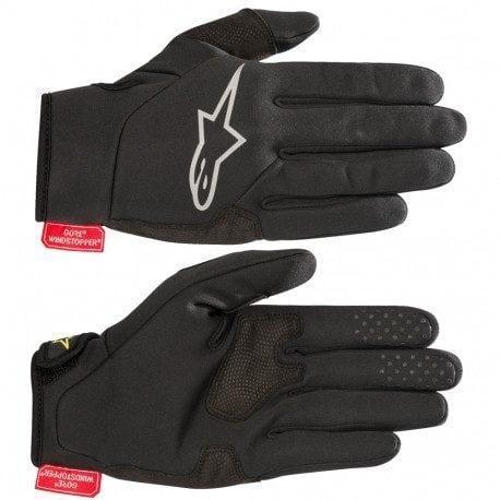Gants de vélo Alpinestars Cascade membrane windstopper de Gore-Tex Infinium Windstopper - Noir/gris