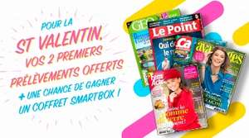 Vos 2 premiers prélèvements Prisma Presse offerts (magazines Capital, Gala, Voici...) - Prismashop.fr