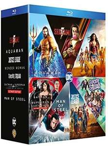 Coffret Blu-ray DC Extended Universe - Collection 7 films