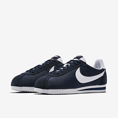 Paire de chaussures Nike Cortez Nylon/Nubuk bleu pour homme - Tailles 40 à 46 (Vendeur tiers)