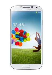 Smartphone Samsung Galaxy S4 avec 12 mois de forfait (inclus dans le prix) :