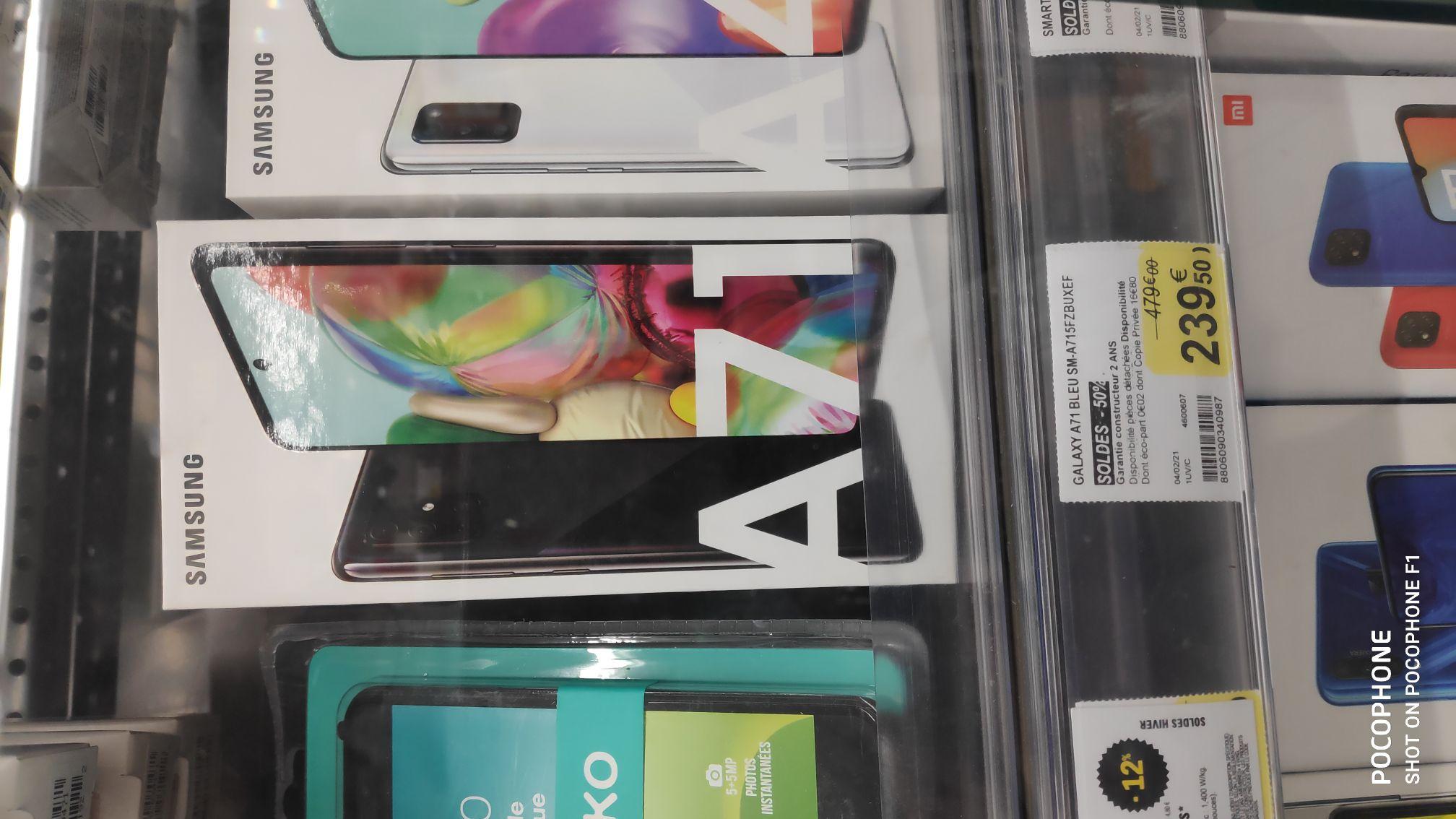 "Smartphone 6.7"" Samsung A71 - Leclerc de Scaër (29)"