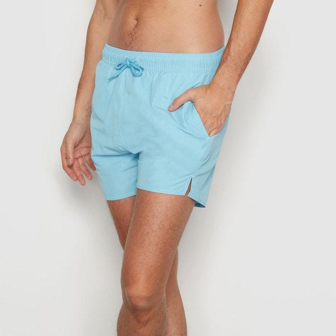 Sélection de shorts de bain en promotion - Ex : Short de bain turquoise (tailles XS à M)