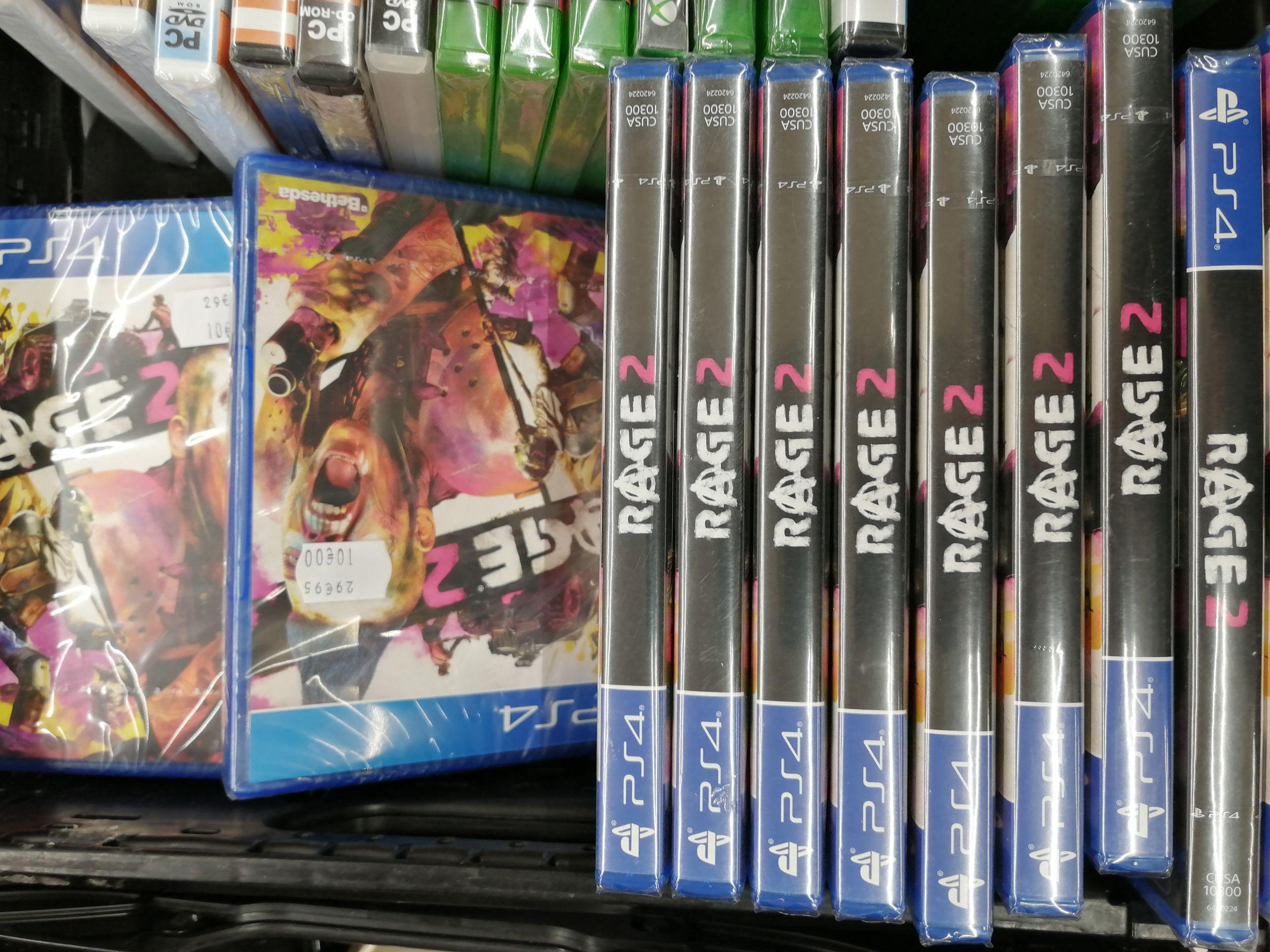 Jeu Rage 2 sur PS4 (Sannois 95)