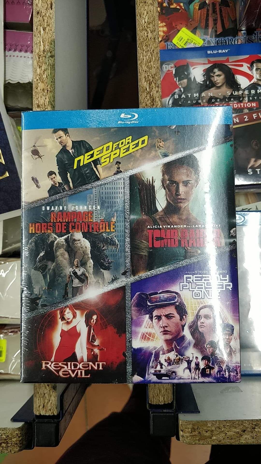Sélection de Coffrets Blu-ray et DVD en promotion - National