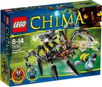 Jeu Lego Legends of Chima - Le tank araignée de Sparratus