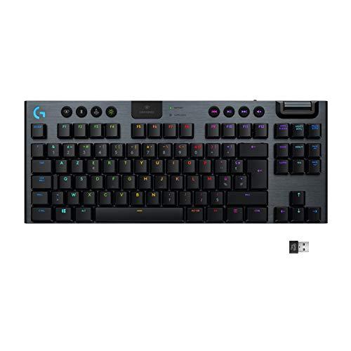 Clavier gaming sans fil Logitech G915 LIGHTSPEED TKL (Version CLICKY)