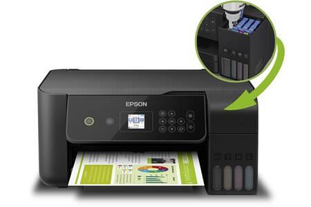 Imprimante multifonction à jet d'encre Epson EcoTank ET-2720 + 2 ans d'impression illimité (Via ODR 20€)
