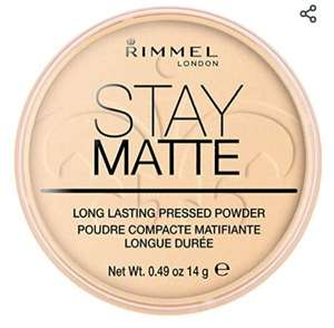 Poudre Rimmel Compact Stay Matte - 14g