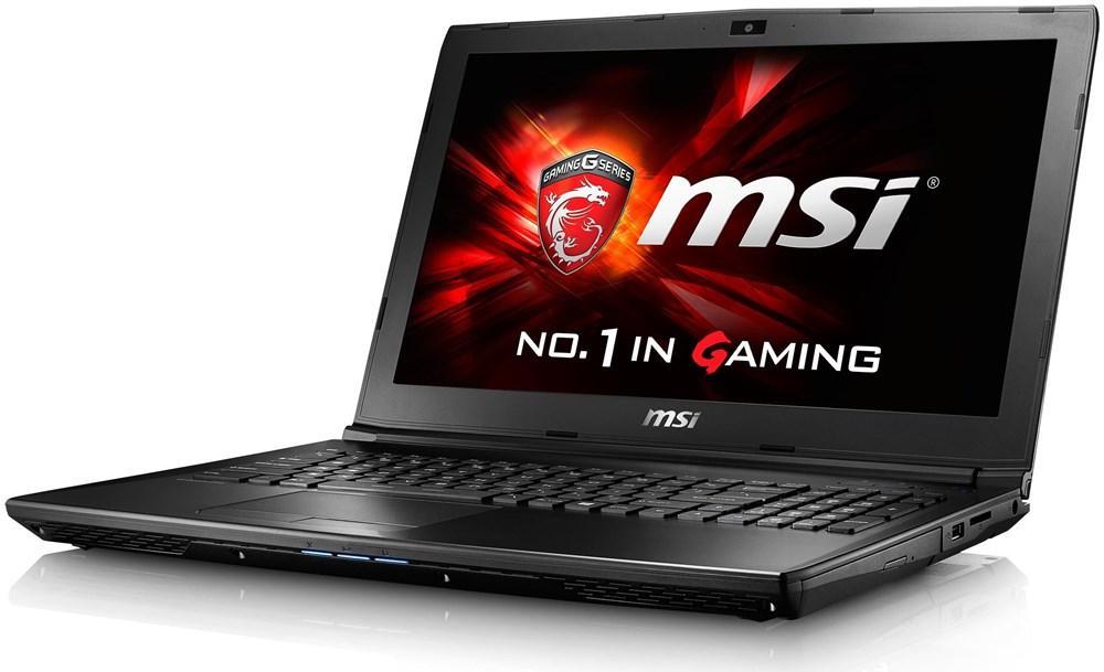 "PC Portable Gamer 15.6"" MSI GL62-6QFi781FD - Full HD, i7-6700HQ, GTX 960M, RAM 8 Go, HDD 1 To (Clavier allemand)"