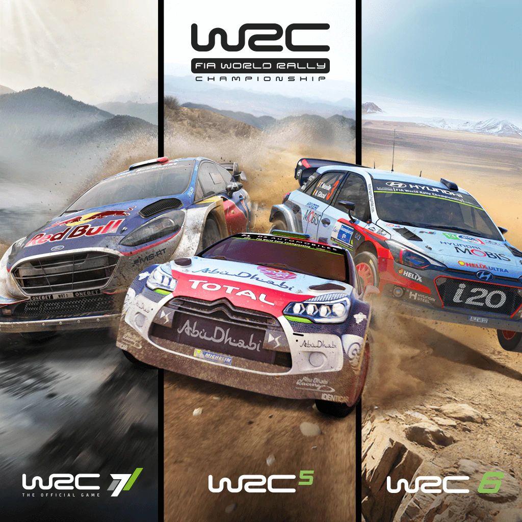 WRC Collection (WRC 5,6,7) sur PS4 (Dématérialisé)