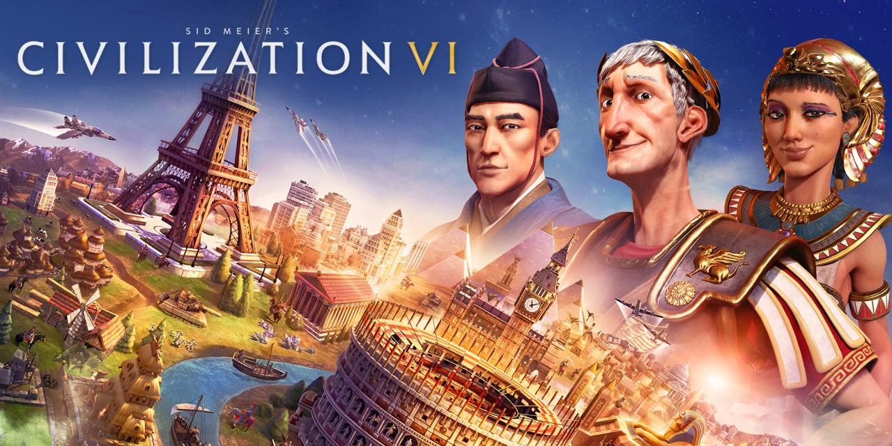 Jeu Sid Meier's Civilization VI sur Nintendo Switch (Dématérialisé)