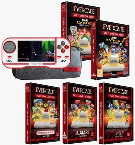 Console Evercade + 3 Cartouches + Atari Lynx Collection 1 & 2