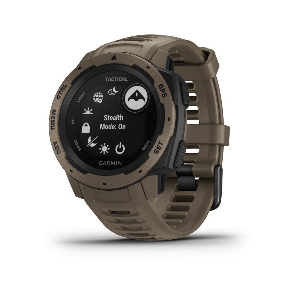Montre GPS Garmin Tactical Édition - Marron