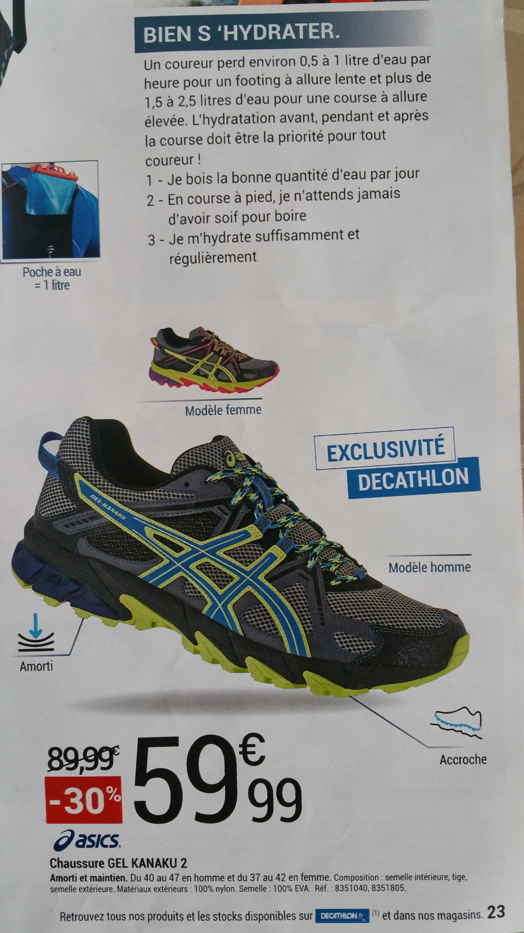 Chaussures de Trail Asics gel kanaku 2
