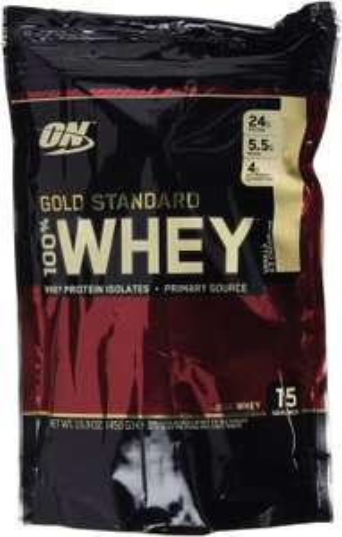 Protéine Optimum Nutrition 100% Whey Gold Standard Vanille 450 g