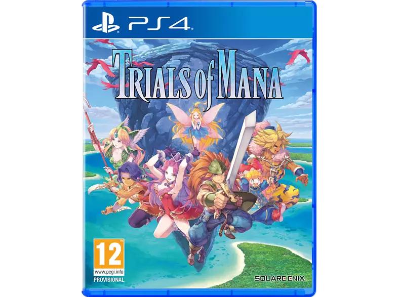 Trials Of Mana sur PS4 (Frontaliers Belgique)