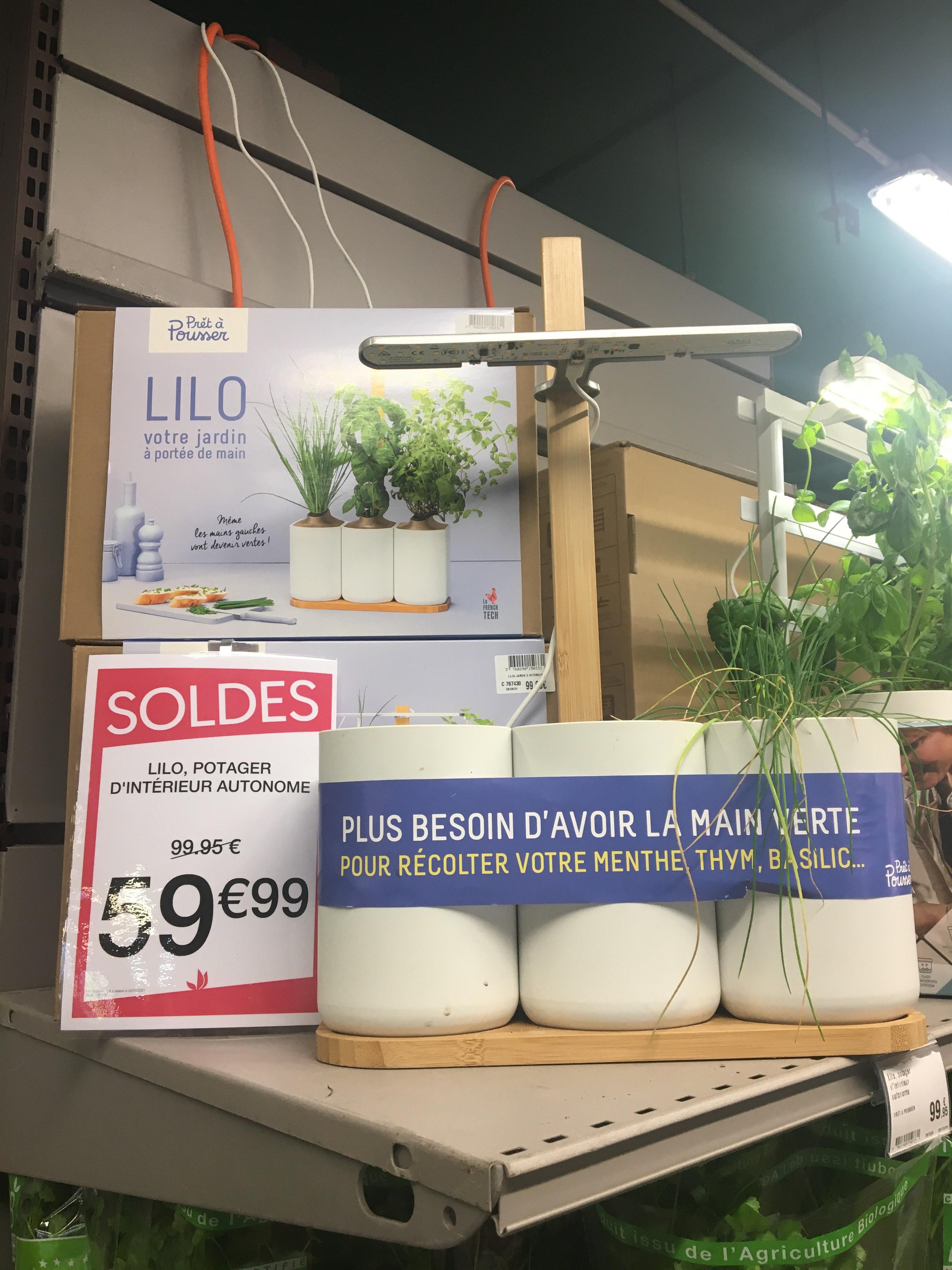 Sélection de portage d'intérieur (Ex: Lilo potager prêt à pousser) - Velizy (78)