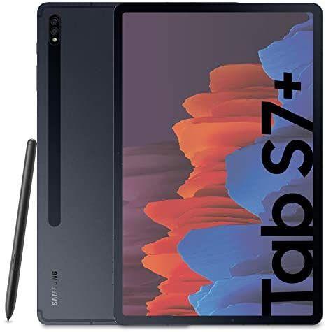 "Tablette 12.4"" Samsung Galaxy Tab S7+ Plus - 128 Go, Noir (vendeur tiers)"