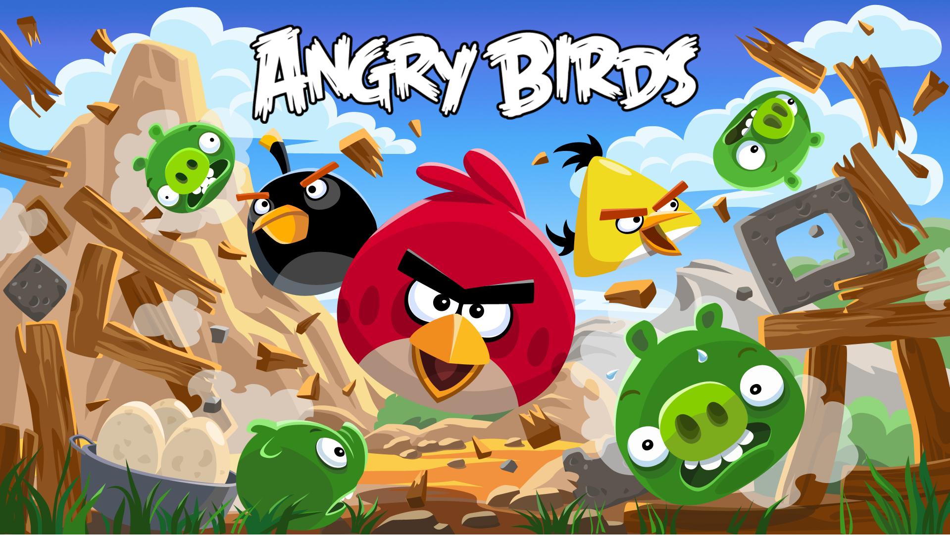 Angry Birds gratuit pour Windows Phone