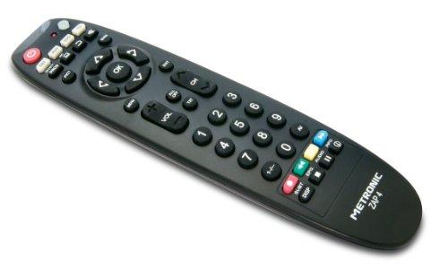 Télécommande Universelle Metronic TCDE ZAP4 - TV/Sat/DVD/HiFi