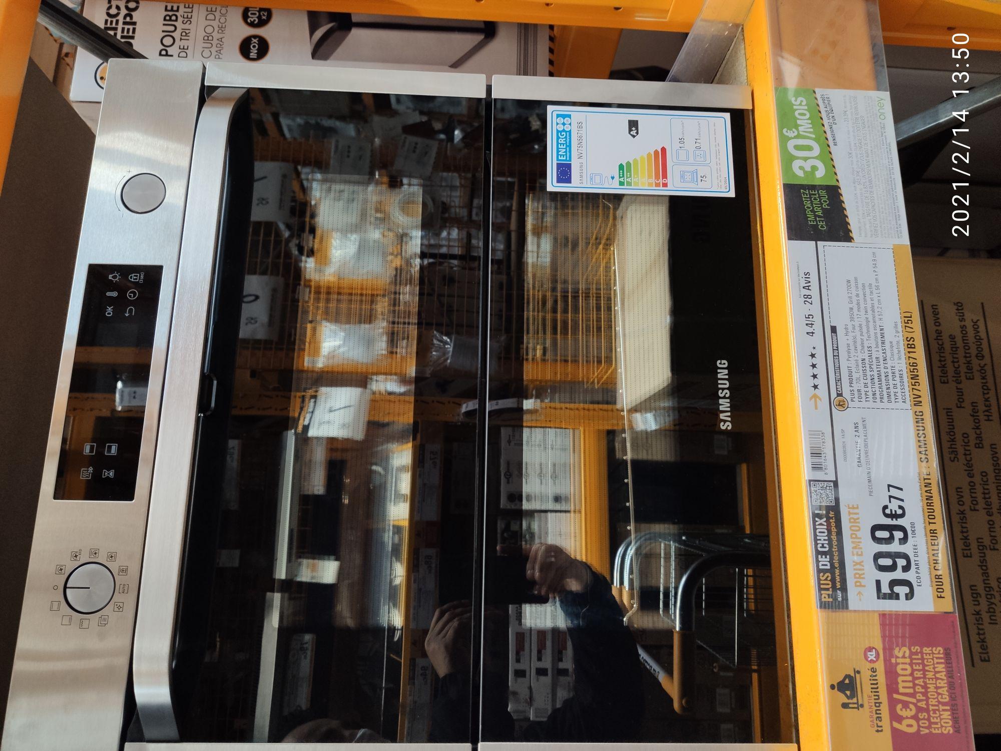 Four double portes Samsung NV75N5671BS - Cabriès (13)