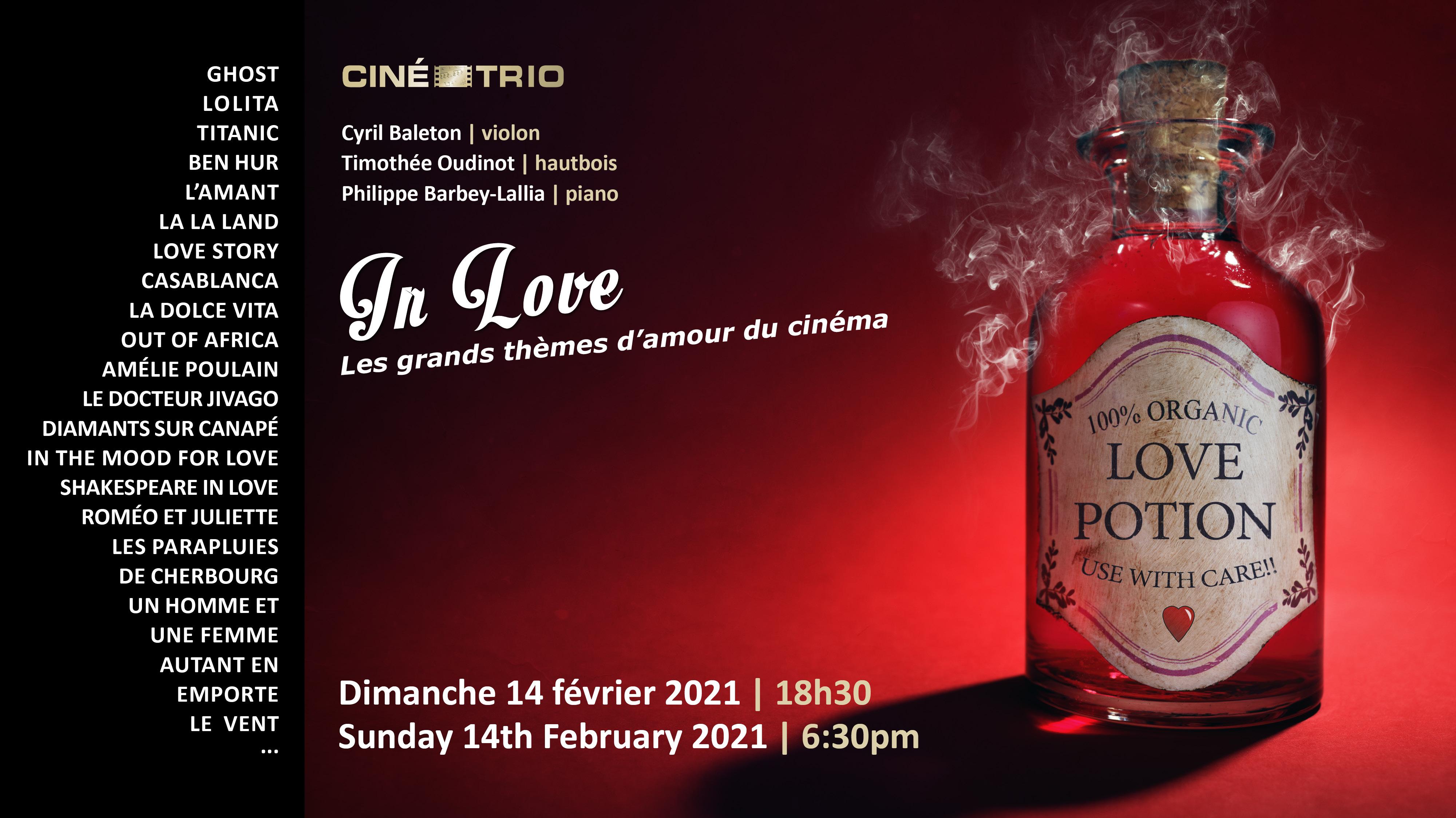 Concert Ciné-Trio en streaming le 14/02 à 18h30 (recithall.com)