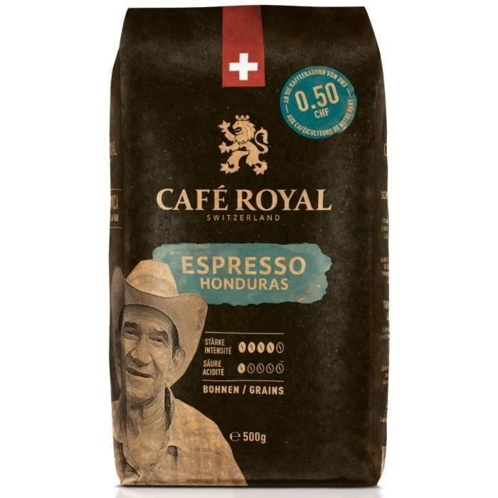 Paquet de café en grains Café Royal Honduras Intense - 500g