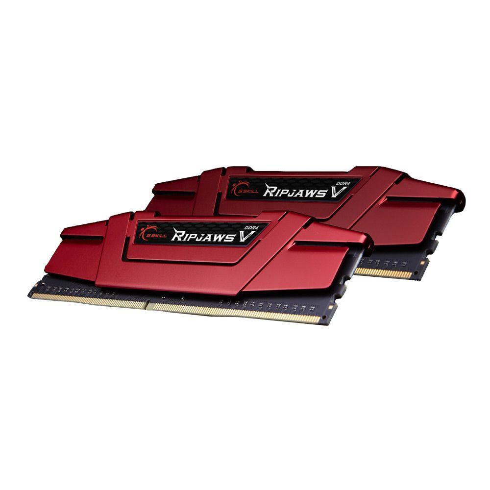 Kit mémoire G.SKill Ripjaws V 8Go (2 x 4 Go) DDR4-2133 CL15