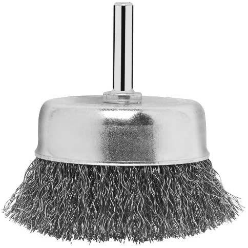 Lot de 3 brosses boisseau Bosch pour perceuse 2609256517 - 6 x 70 mm