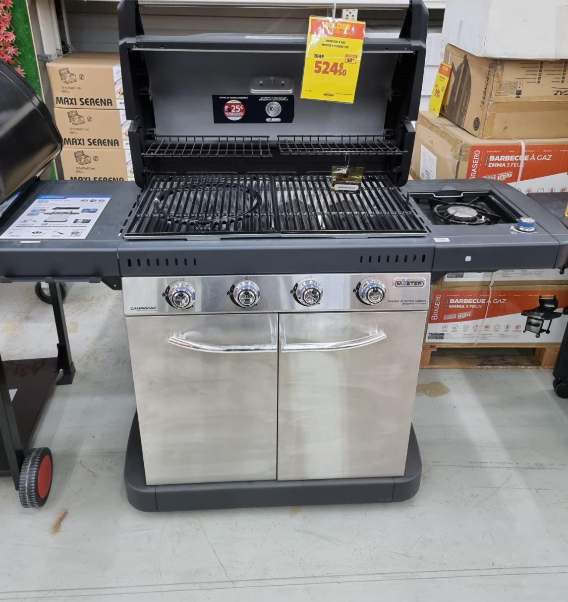 Barbecue Campingaz Master 4 Classic EXS - Viry Chatillon (91)