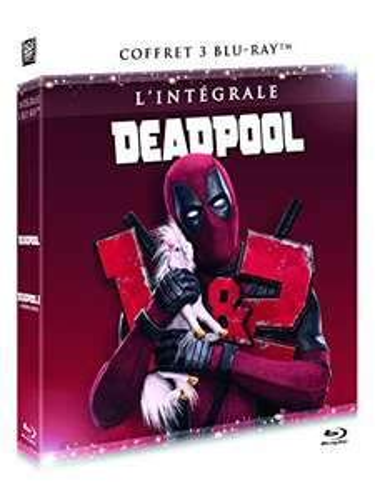 "Coffret blu-ray ""L'intégrale Deadpool"" (3 disques)"