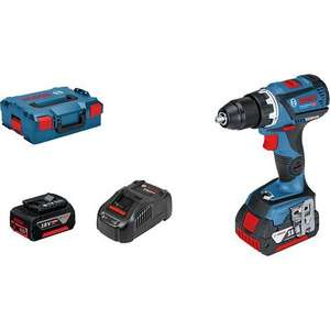 Perceuse-visseuse Bosch GSR 18 V + 2 Batteries + L-boxx (06019G1100)