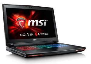 PC Portable Gamer MSI GT72S-6QEG82FD - i7-6700HQ, RAM 8 Go, HDD 1 To, GTX980M (Clavier allemand)