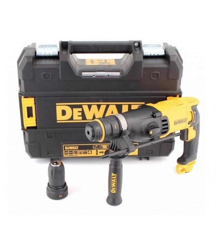 Marteau perforateur DeWalt D25134K-QS SDS+ - 2.8 J, 800 W (acquaclick.com)