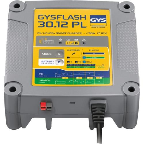 Chargeur et entretien de batterie Plomb / Lithium GYS GYSFLASH 30.12 PL 029668 (pkw-teile.de)